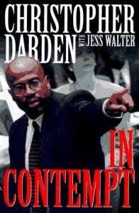 Chris Darden book cover IN CONTEMPT