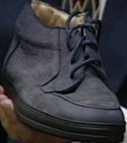 bruno magli Lorenzo model shoe close up shot