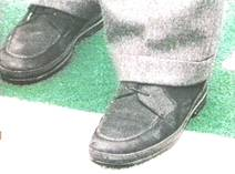 bruno magli shoes with oj in them two