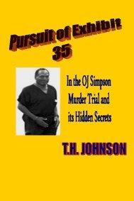 photo book cover PURSUIT OF EXHIBIT 35