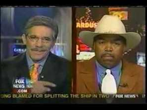 henry s. johnson with geraldo rivera