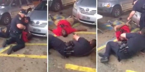 Alton Sterling is shot dead by police during an incident captured on the mobile phone video camera of shop owner Abdullah Muflahi in Baton Rouge