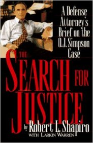 Robert Shapiro search for justice book cover