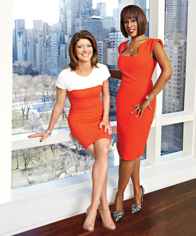 gayle king and nora o donald