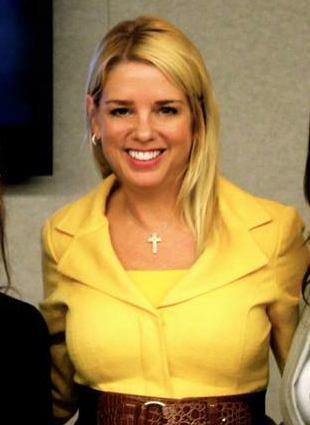 Pam-Bondi in yellow