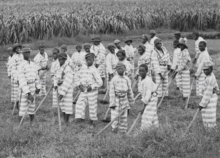 convict leasing system black youth number seven