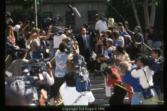 OJ Simpson Trial and Media Circus
