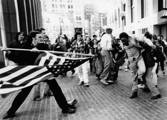 boston flag stabbing Ted Landsmark