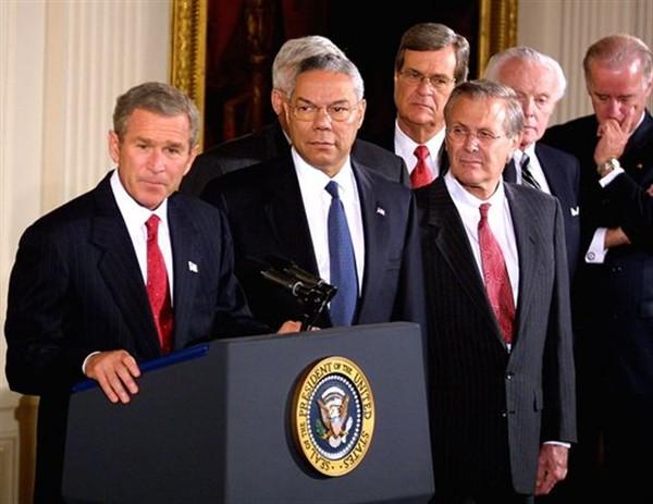Bush-Iraq-Cheney-Powell