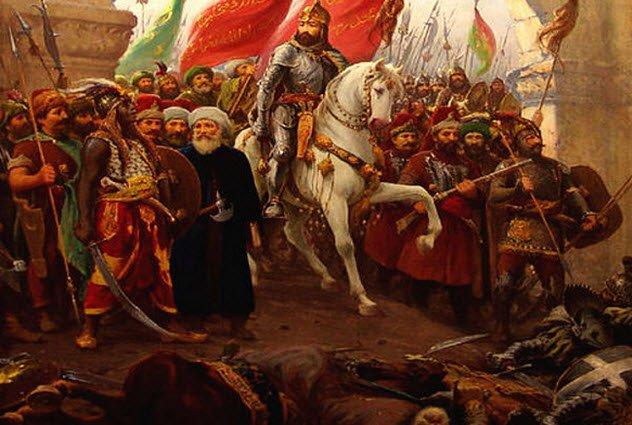 Ottoman Turks mehmed-constantinople