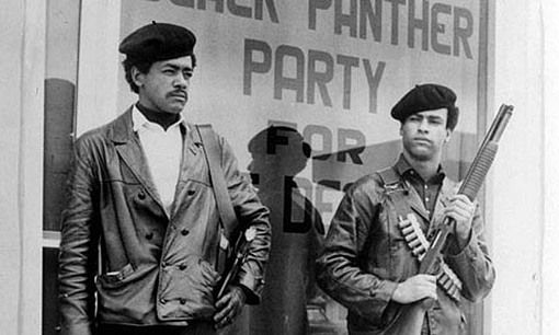 huey newton and eldridge cleaver