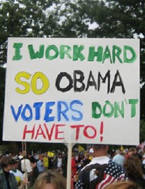 anti obama sign