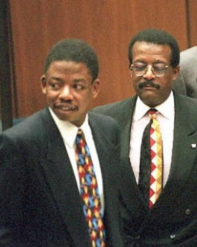 Carl Douglas and Johnnie Cochran (2)