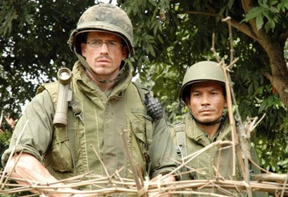 Fred whitehurst and South Vietnamese soldier translater