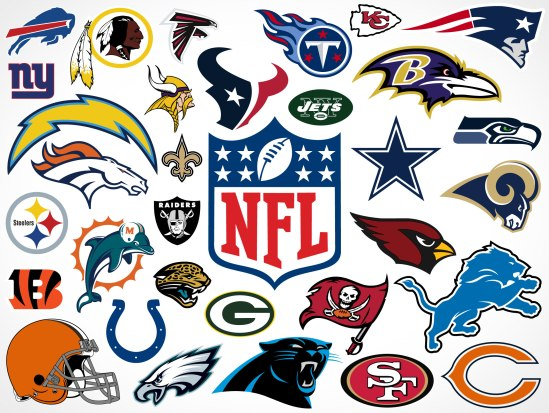 NFL collage of teams