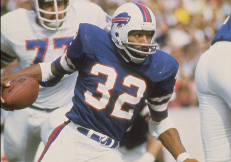This image has an empty alt attribute; its file name is oj-at-buffalo-with-32-jersey-1.jpg